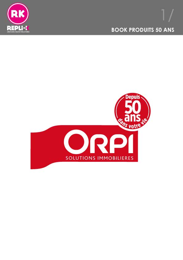 Catalogue Orpi 50ans